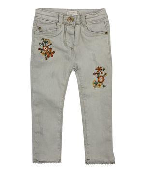 Jeans Skinny Origen Bebé Niña Gris 3 A 24 Meses