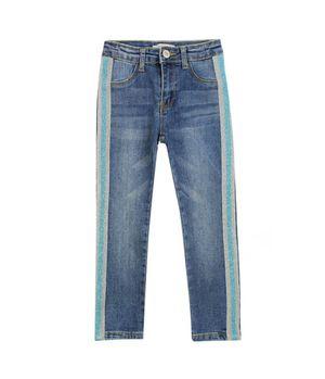 Jeggins Skinny Free Style Kids Niña Azul 2 A 6 Años