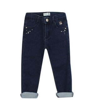 Jeans Slim Jogg Just Denim Bebé Niña Azul 3 A 24 Meses