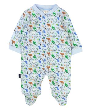 Pijama Enterito Must Have New Born Niño Celeste Prematuro A 9 Meses