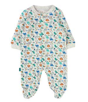 Pijama Enterito Must Have New Born Niño Grismelange Prematuro A 9 Meses