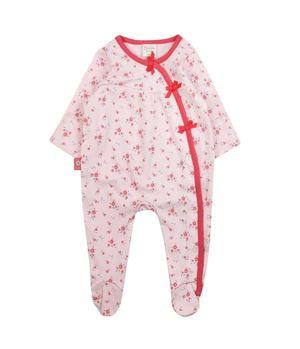 Pijama Enterito Must Have New Born Niña Rosado Prematuro A 9 Meses