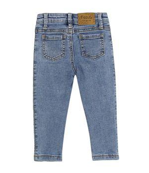Jeans Skinny Savage Bebé Niña Celeste 3 A 24 Meses