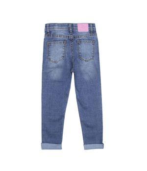 Jeans Natural Denim Kids Niña Azul 2 A 6 Años
