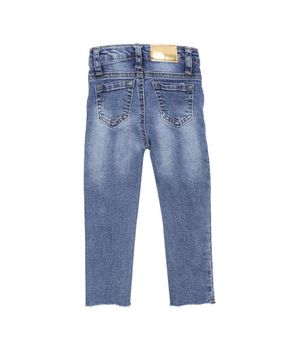 Jeans Skinny Botanical Bebé Niña Azul 3 A 24 Meses