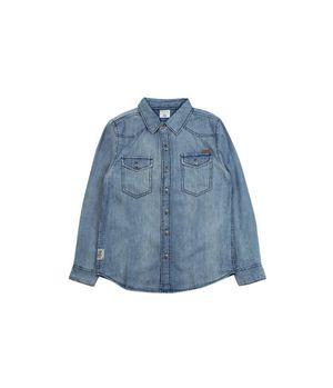 Camisa Jeans Just Denim Junior Niño Azul 8 A 12 Años