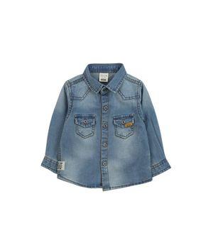 Camisa Jeans Just Denim Kids Niño Azul 2 A 6 Años