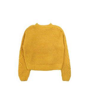 Sweater Oversize Nostalgic Teens Niña Mostaza 12 A 16 Años