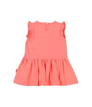 Vestido Day To Day Bebé Niña CoralNeon 3 a 24 meses
