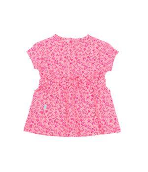 Vestido Day To Day Bebé Niña RosadoNeon 3 a 24 meses