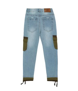 Jeans Bolsillos Laterales Kenia Kids Niño Azul 2 a 6 años