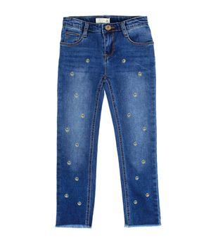 Jeans Bordado Kenia Kids Niña Azul 2 a 6 años