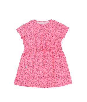 Vestido Day To Day Kids Niña RosadoNeon 2 a 6 años