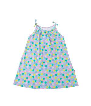 Vestido Listado Day To Day Kids Niña Turquesa 2 a 6 años
