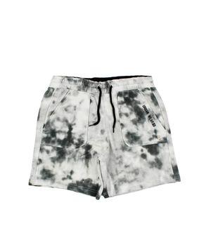 Bermuda Efecto Tie Dye Game Scape Teens Niño Blanco/Gris 12 a 16 Años