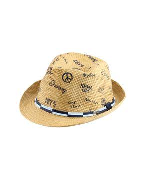 Sombrero Estampado Kenia Kids Niño Beige 2 a 6 años