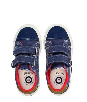 Zapatilla 2 Velcros Urbanas Kids Niño Azul 2 a 6 años