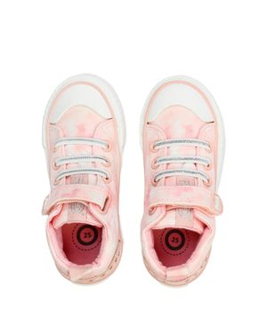 Zapatilla Velcro y Cordones Zapatillas Urbanas Kids Niña Rosado 2 a 6 años